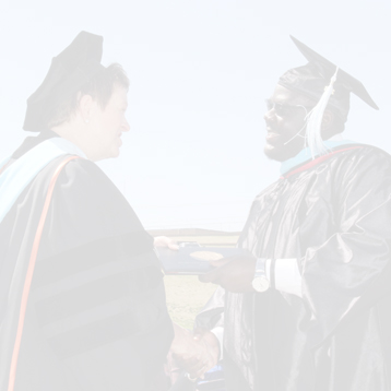 Receiving Master's Diploma