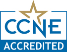 CCNE Seal for Accreditation