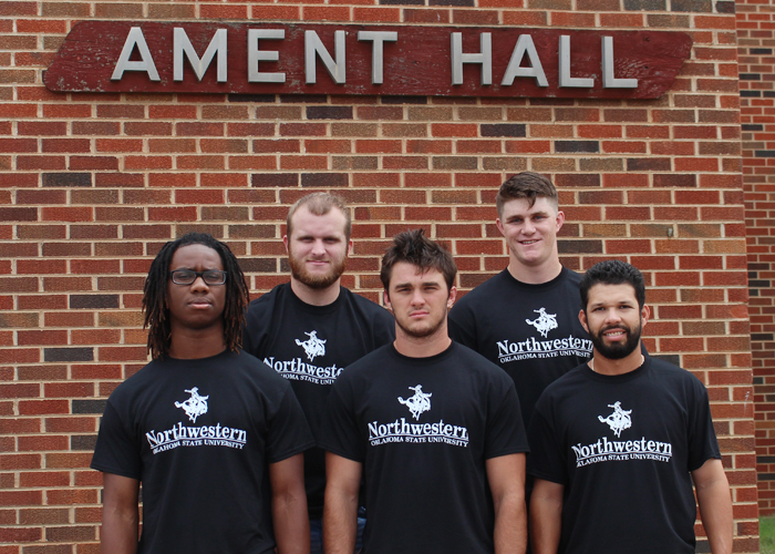 Resident Assistants in Ament Hall