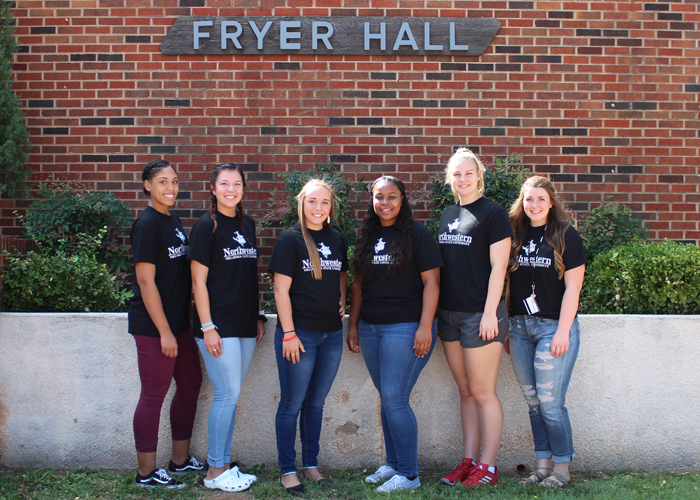 Resident Assistants in Fryer Hall