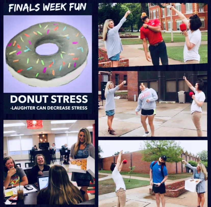 Donut Stress Finals Week Fun