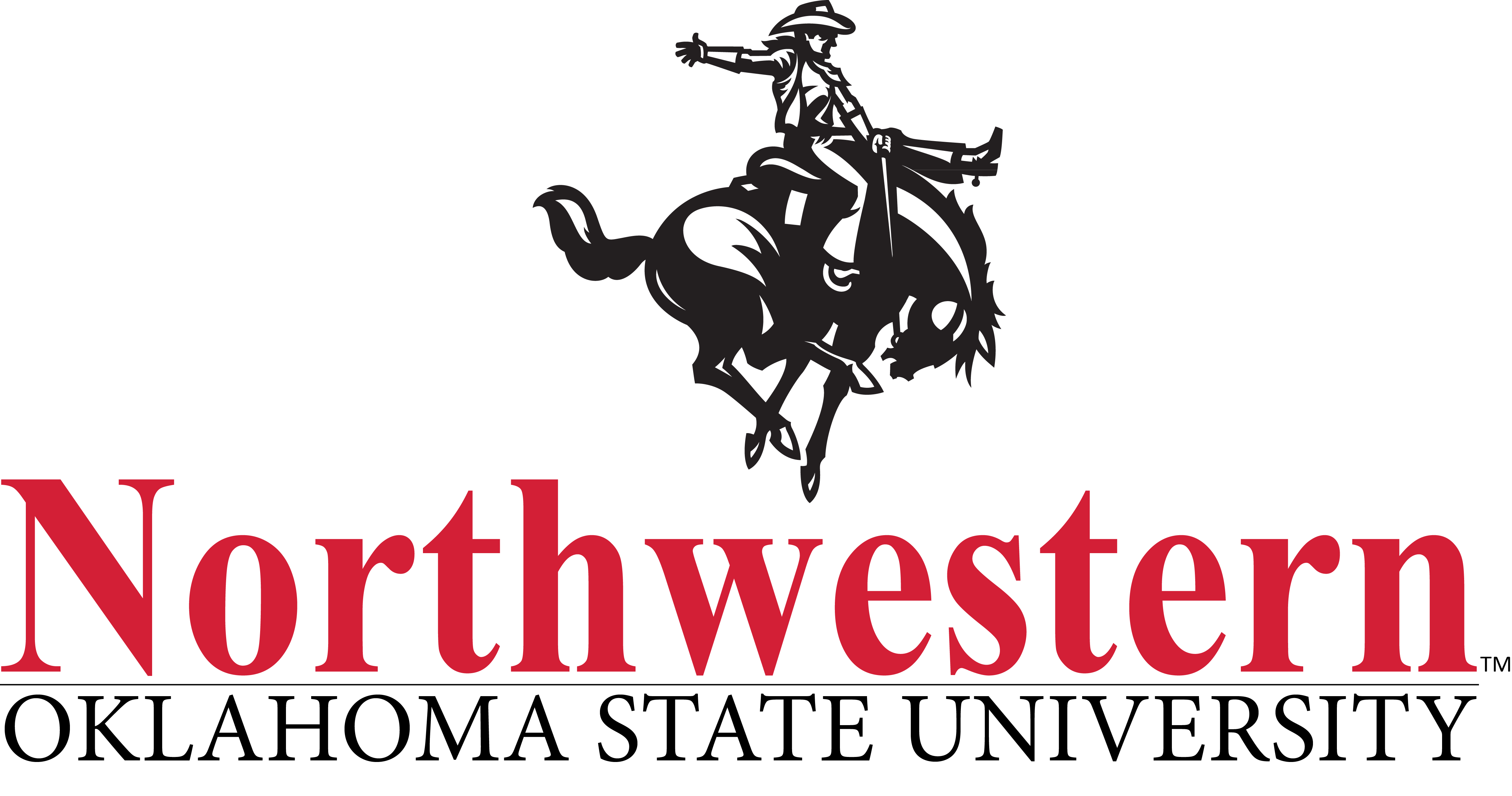 horse and rider wordmark