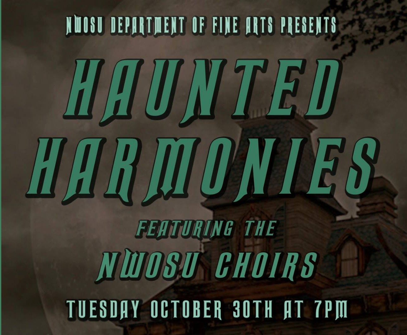 Northwestern choirs to perform 'Haunted Harmonies' October