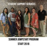Student Support Services Summer JumpStart Program Staff 2018