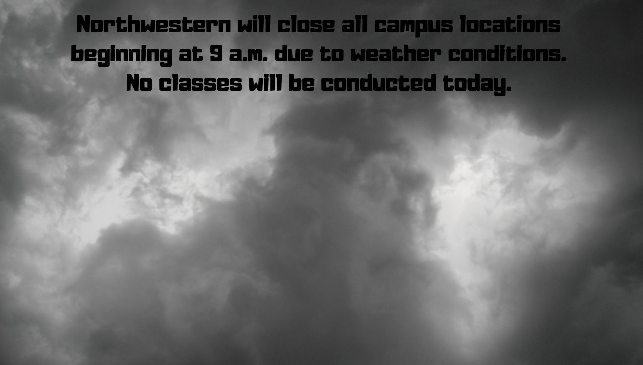 Severe Weather Closing Campus Locations